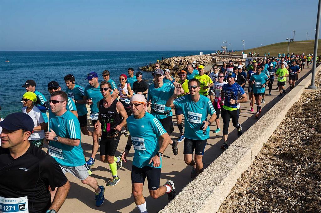 מרתון תל-אביב 2018 - מנטבר פילאטיס